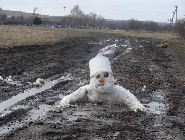 30 самых странных снеговиков на планете