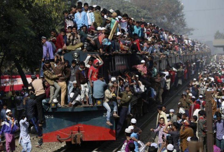 Самый перегруженный транспорт мира, 40 фото