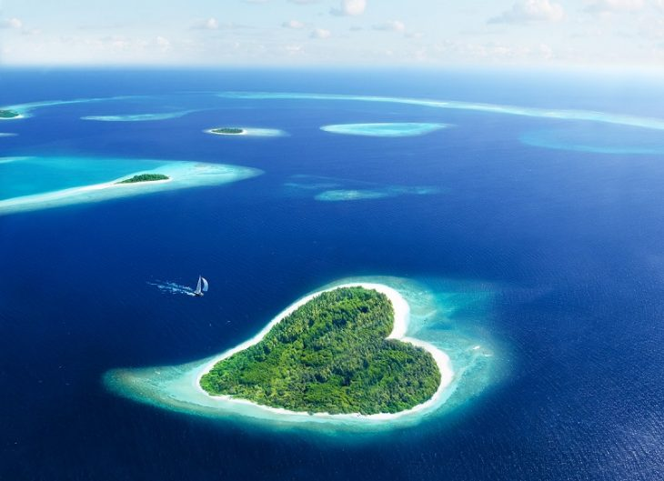 Лучшие места в мире для посещения в медовый месяц