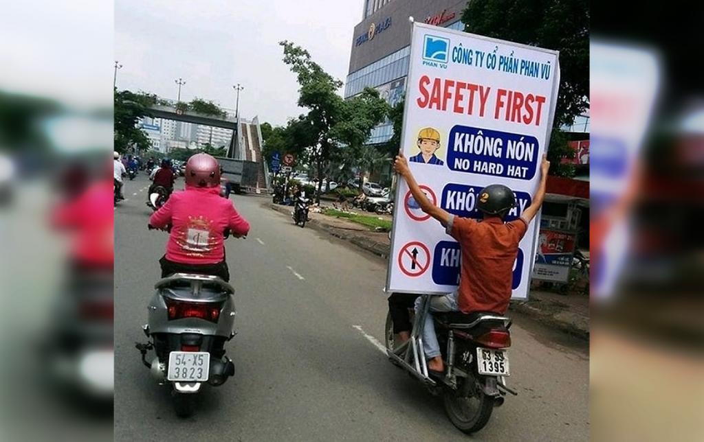мужчины и техника безопасности