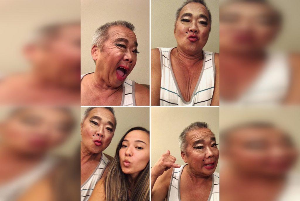 """30 уморительных фото папуль, которые посетили """"салоны красоты"""" своих дочерей"""