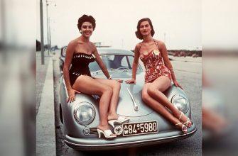 ретро авто и девушки